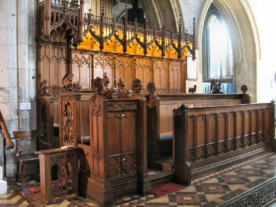 St. Canice's Cathedral & Round Tower : The beautiful woodwork