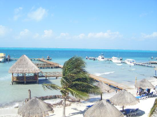 Isla Mujeres Palace: View from room 101