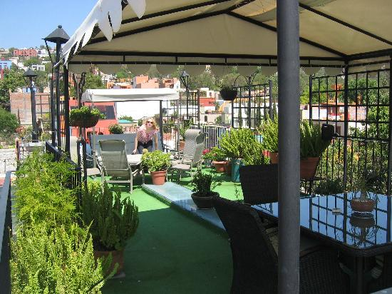 Casa Maricela: the rooftop terrace
