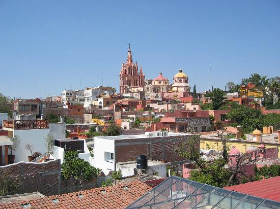 Casa Maricela: view from the terrace