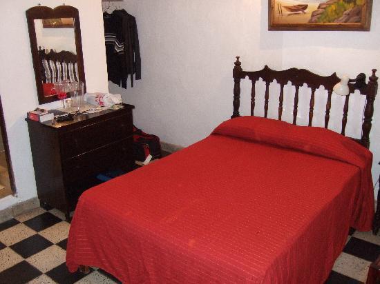 Bed at Posada Roger