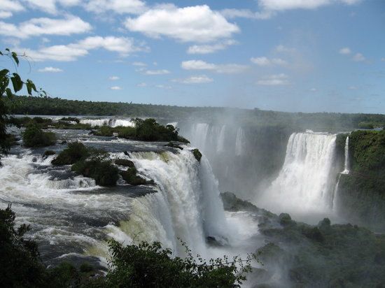 Iguazu Falls : Brazilian side
