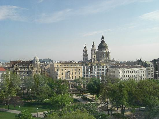 Kempinski Hotel Corvinus Budapest: vistas desde la habitacion