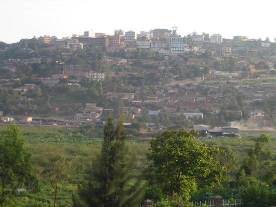 View on Kigali (Kyovu Hill)