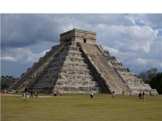 Penisola dello Yucatan, Messico: ruina chichen itza