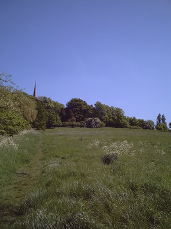 Хэрроу, UK: Park, Harrow on the Hill, May, 2008