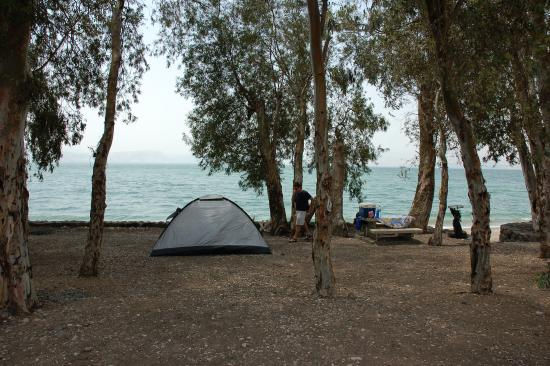 Photo of Sussita Beach Campground Tiberias
