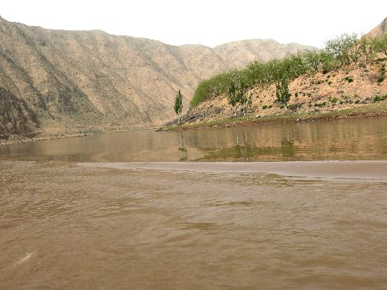 Zhongwei China  city pictures gallery : Zhongwei, China: Yellow river