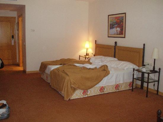 Hotel Termes de Montbrio - Resort Spa & Park: camas dobles