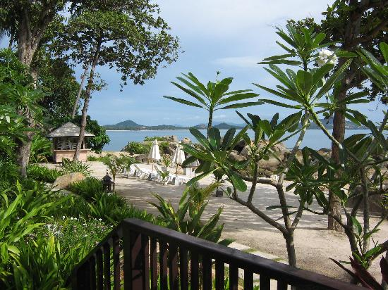 Merit Wellness & Mind Retreat Resort Samui: view from our room