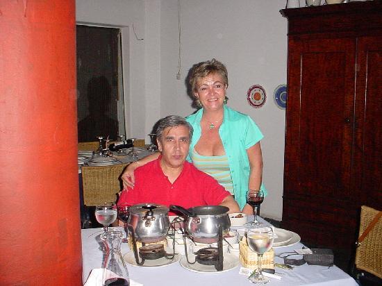 Restaurante Amelia : Pedro y Sonia
