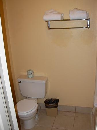 Best Western Oceanside Inn: The toilet