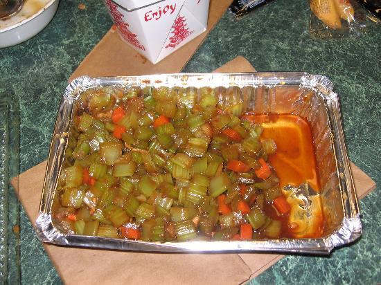 Lee's Garden Chinese Restaurant: celery content 1