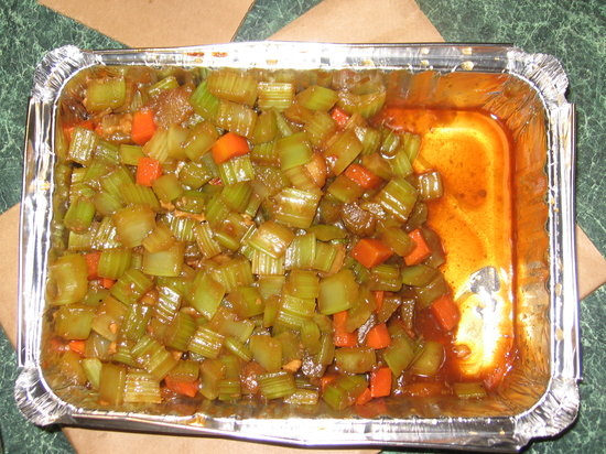 Lee's Garden Chinese Restaurant: celery content 2