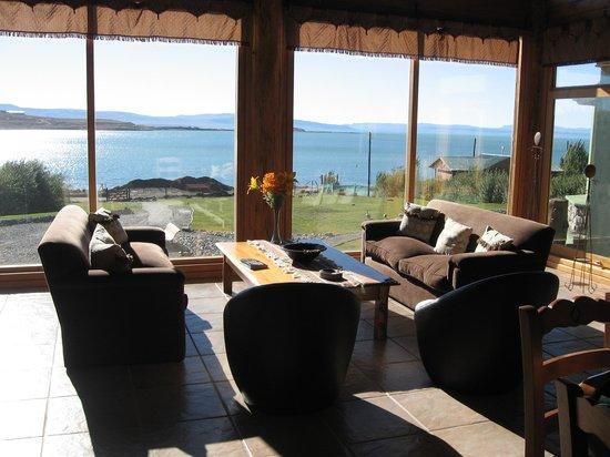 Hosteria los Hielos: Hotel Lounge Area