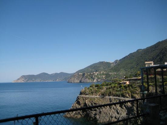 A Casa Cinque Terre Manarola: View from our patio.