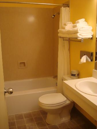 University Inn - A Piece of Pineapple Hospitality: bathroom