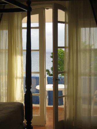 Luxury Bahia Principe Samana Don Pablo Collection : Balcony doors in our room