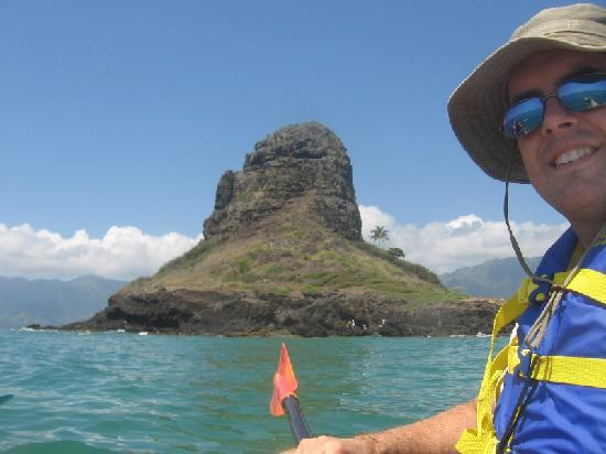 Chinaman's Hat: North side of the island.