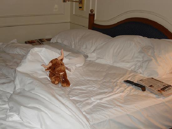 The Oberoi, Mumbai: The Bed