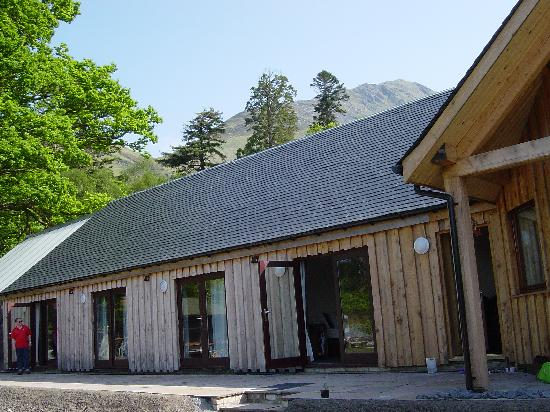 Knoydart Peninsula, UK: Knoydart Lodge  Patio