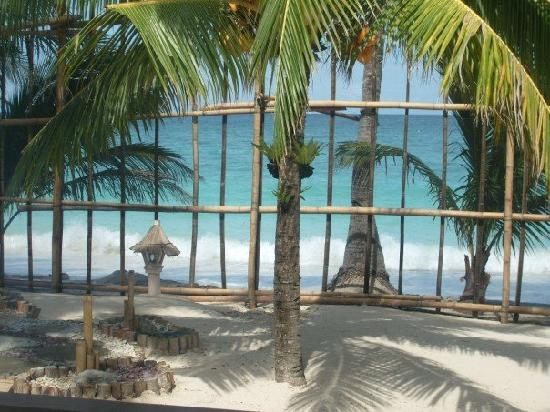 Hotel Isla Boracay-South: The view from my porch...look how close the water is!