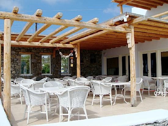Vencia Hotel: Dining Patio