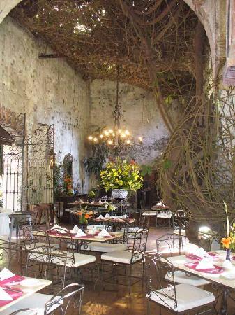 Hotel Hacienda de Cortes: Hacienda Dining Room