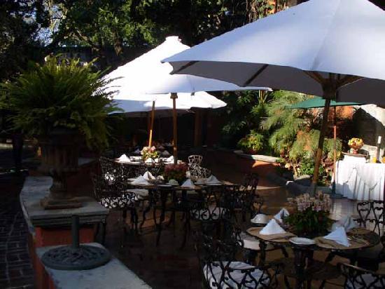 Hotel Hacienda de Cortes: Hacienda Terrace