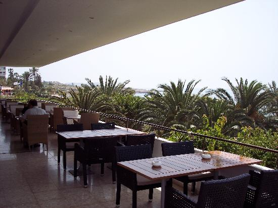 Alion Beach Hotel: The terrace