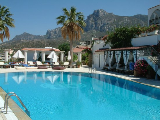 The Hideaway Club Hotel: View of Kyrenia Mountains