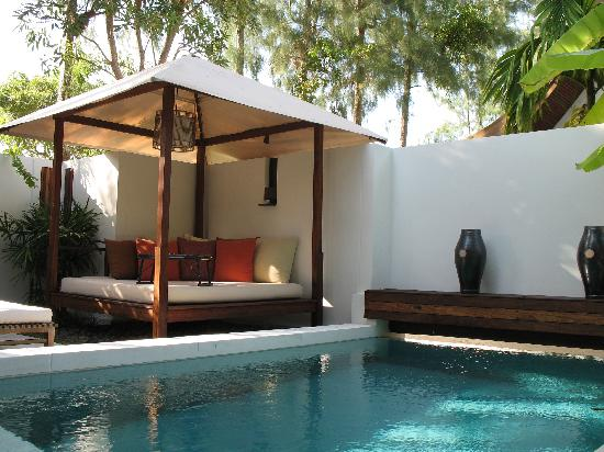 SALA Samui Resort And Spa : Our private pool
