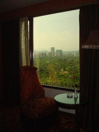 Rido Hotel: View of DA'AN Park from my Room