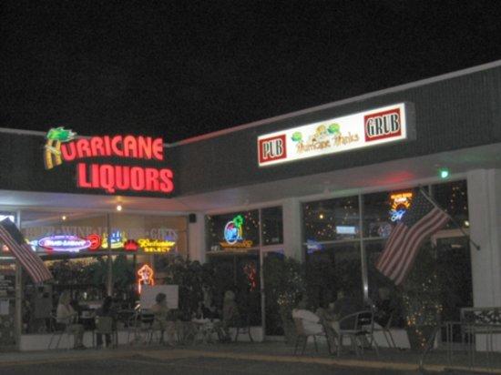 Hurricane Hanks: Hurricane Hank's at Night