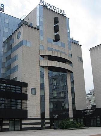 Novotel Grenoble Centre : Novotel exterior