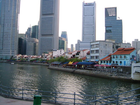 Singapore River, Cingapura: Boat Quay