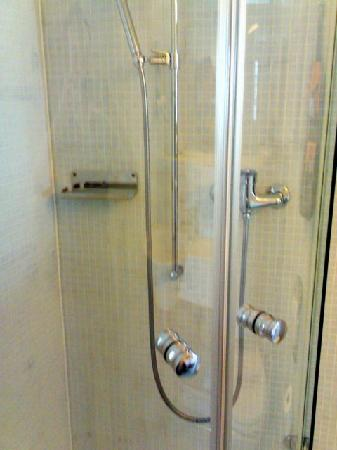 Hotel Seehof: Great and spacious shower