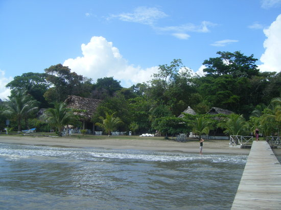 Livingston, Guatemala : playa