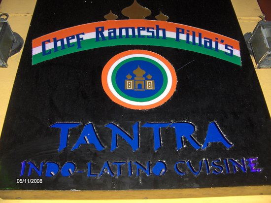 Outdoor sign for Tantra