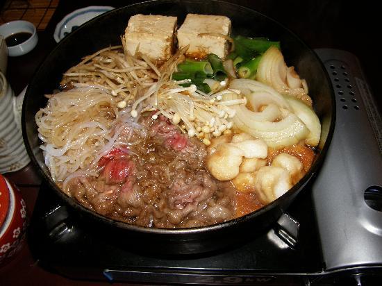 Motonago: le sukiyaki