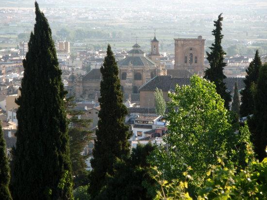 Granada, Spain: Catedral desde el Albaycín