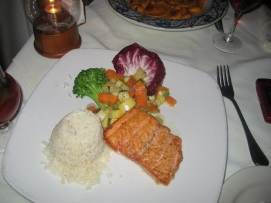 Sea Cafe: Salmon Steak