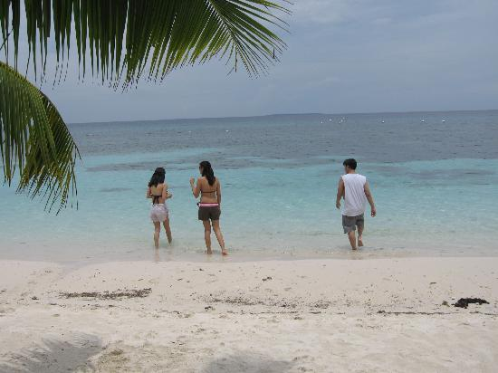 Amarela Resort: very clean waters
