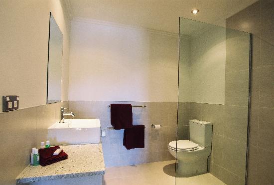 Decks of Paihia Luxury Bed and Breakfast : Bathroom en suite