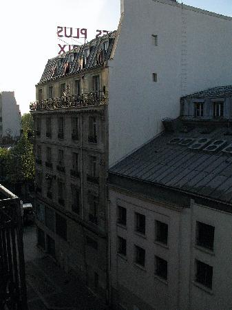 Hotel Angleterre: view from balcony