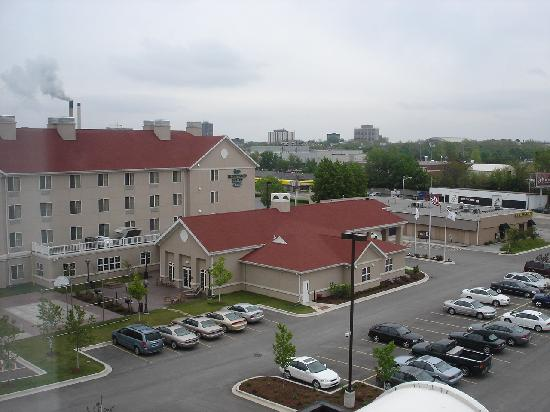 Hilton Garden Inn Champaign/ Urbana: view from room 1