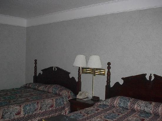 Queen of Diamonds Inn: Main room with 2 Queen Beds