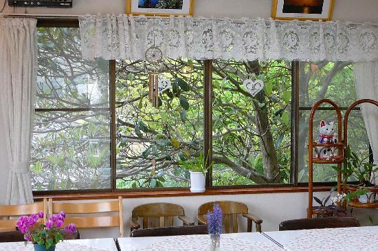 Pension Sakuraya dining room view