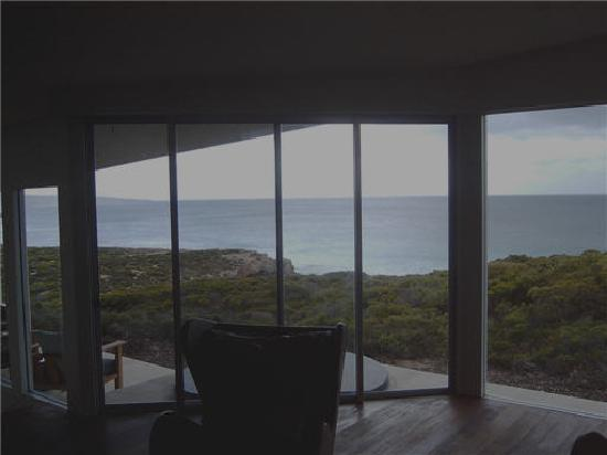 Southern Ocean Lodge : From the lounge