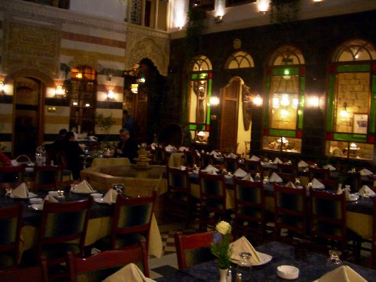 Al Khawali Restaurant : The Courtyard